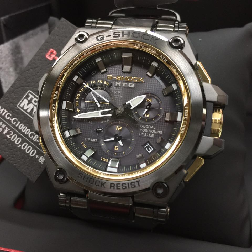 [Live Photos] G-Shock MTG-G1000GB-1 Black and Gold Edition