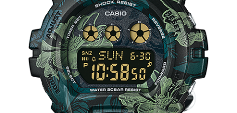 How to set alarm on G-Shock GMD-S6900 / Casio 3436