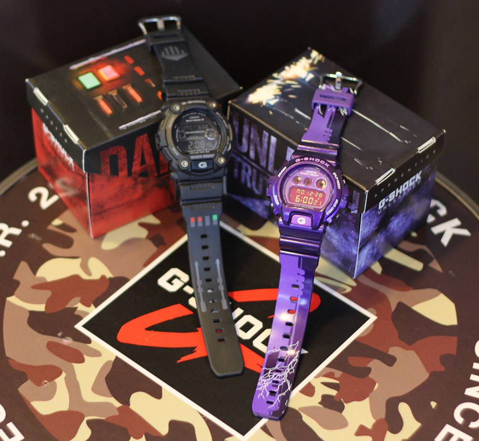 [Live Photos] G-Shock STAR WARS – THE FORCE UNLEASHED GW-7900 & DW-6900