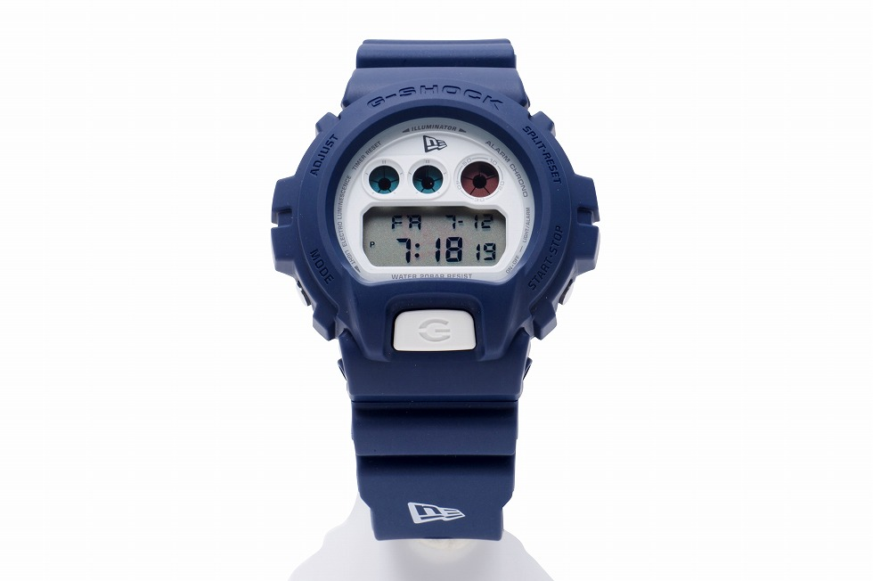[LIve Photos] G-Shock x New Era DW-6900 Navy Watch