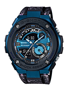 How to set alarm on G-Shock GST-200 / Casio 5475