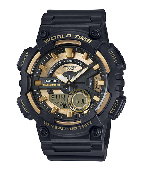 How to set time on Casio AEQ-110 / Casio 5479