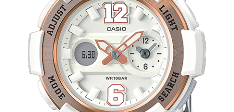 How to set time on Baby-G BGA-210 / Casio 5338