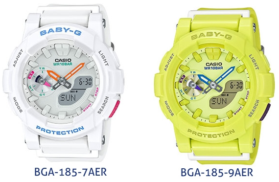 [Live Photos] Baby-G BGA-185 are Coming Soon