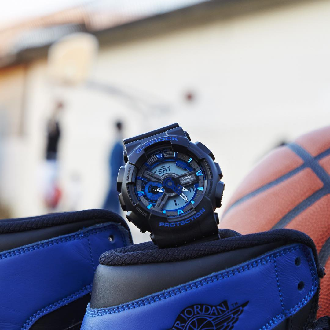 [Live Photos] G-Shock Cool Blue GA-110CB-1A & GA-200CB-1A