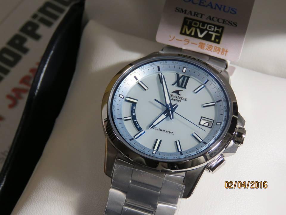 Oceanus Ocw T150 2a Atomic Titanium Watch