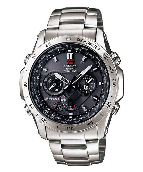 How to set time on Edifice EQW-T1010 / Casio 5261