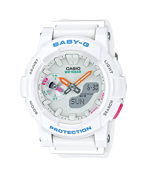 How to set time on Baby-G BGA-185 / Casio 5481