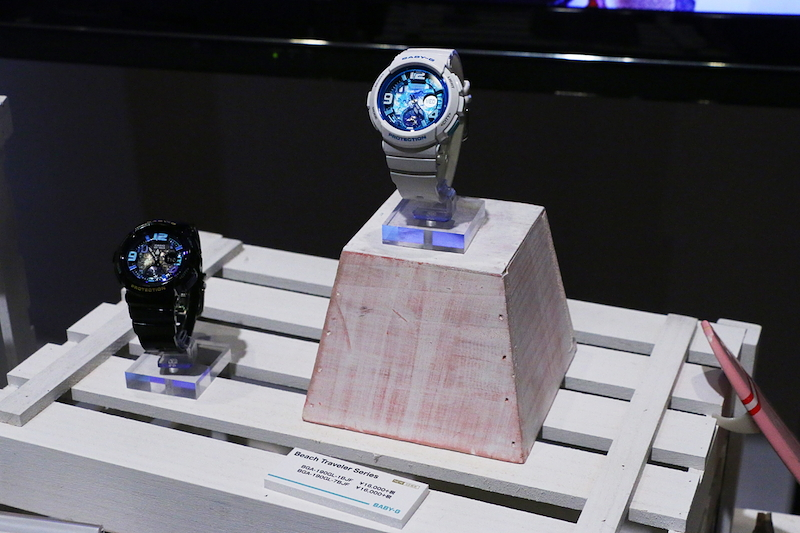 [Live Photos] Baby-G Blue Earth day and night BGA-190GL