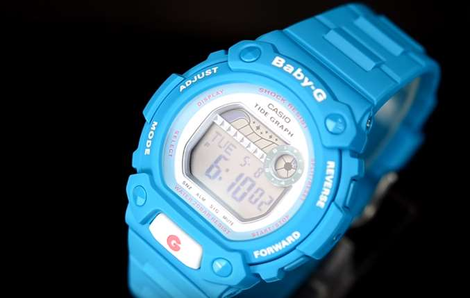 [Video] Baby-G G-LIDE BLX-102-2BJF Blue Color