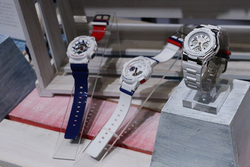 "[Live Photos] Baby-G Marin ""White Tricolor"" Series"