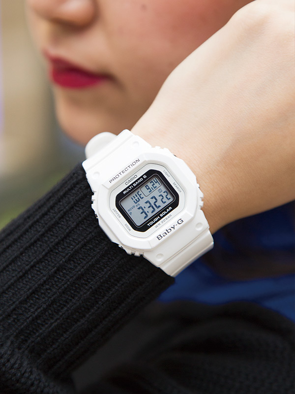 [Live Photos] Baby-G White Tripper BGD-5000-7JF
