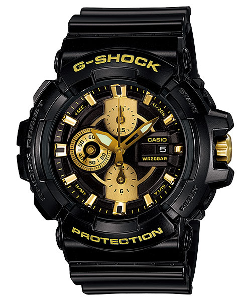 How to set time on G-Shock GAC-100 / Casio 5277