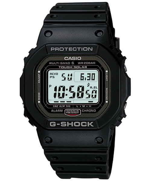 G-Shock GW-5000 User Manual / Casio Module 3159