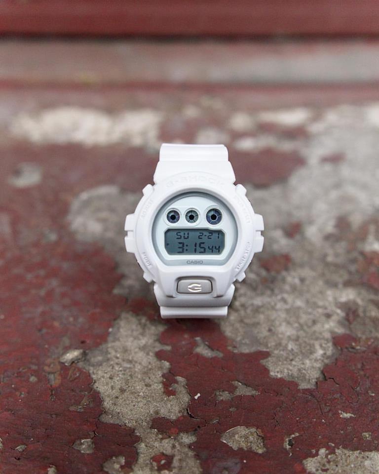 [Live Photos] Fresh and Clean White G-Shock GD-100WW7C, GA-110BC7A & DW-6900WW7S