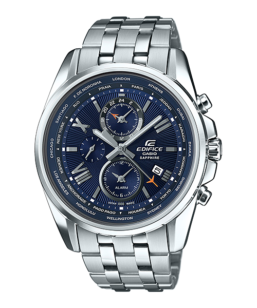 How to set time on Edifice EFB-301 / Casio 5335