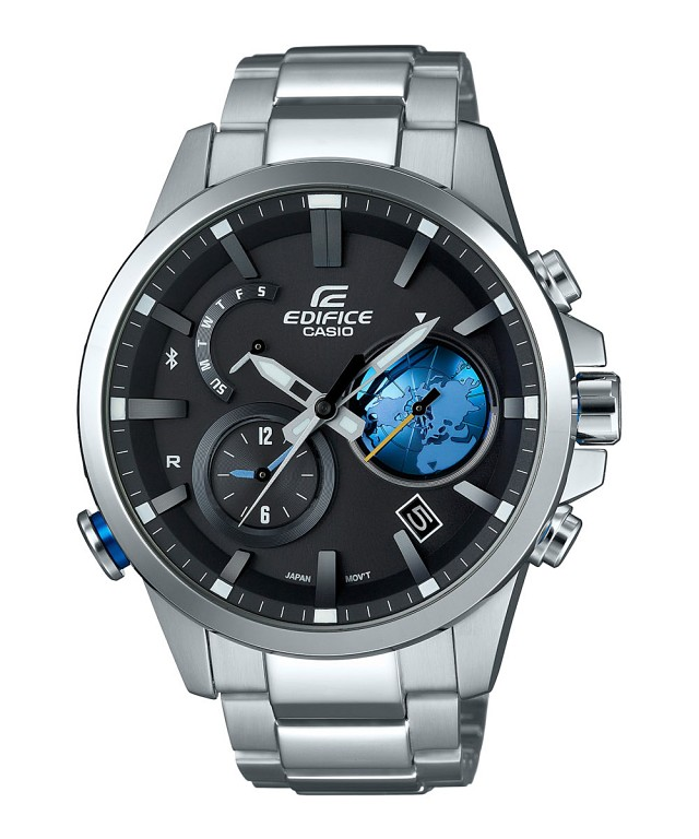 How to set time on Edifice EQB-600 / Casio 5466