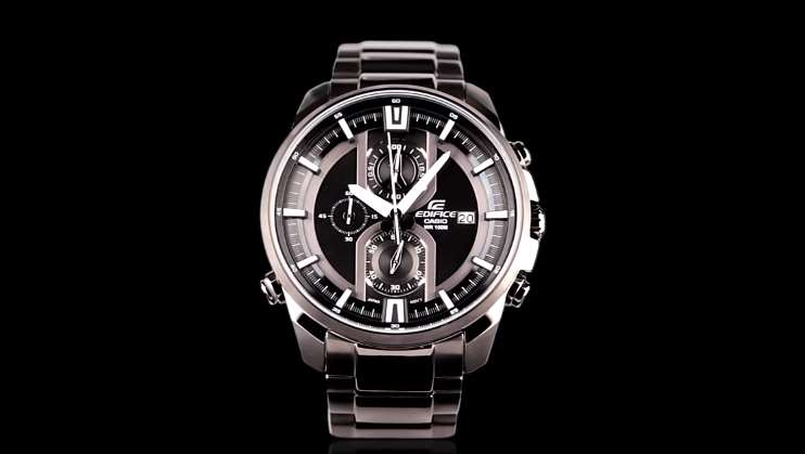 [Video] Edifice EFR-533BK Chronograph Watch Features