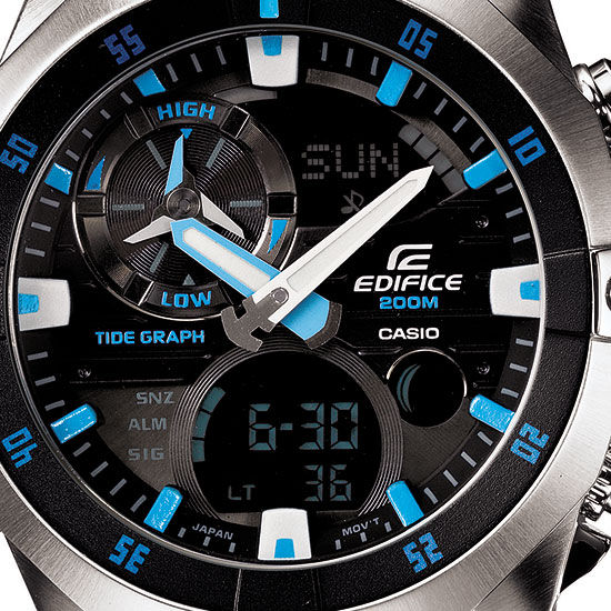 [Live Photos] Edifice EMA-100 Marine Line