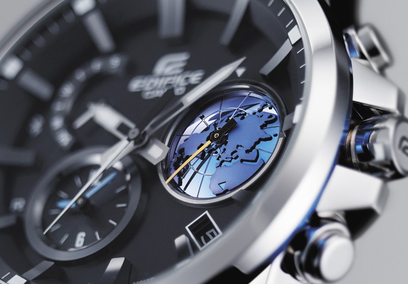 [Official] Edifice EQB-600D with Inset Dial Featuring Planet Earth Motif