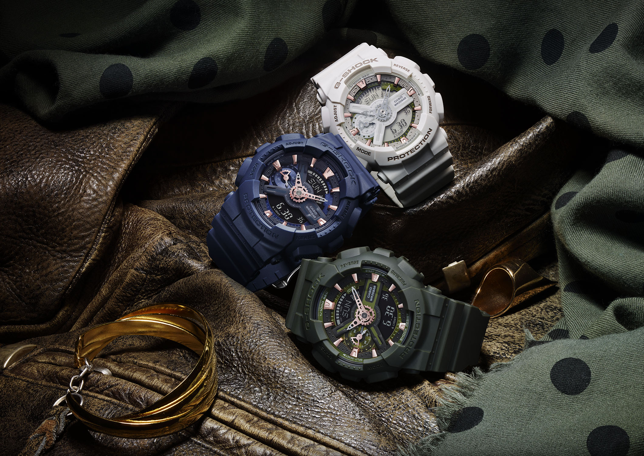 [Official] G-SHOCK S SERIES ANNOUNCES MILITARY COLLECTION FOR SPRING 2016