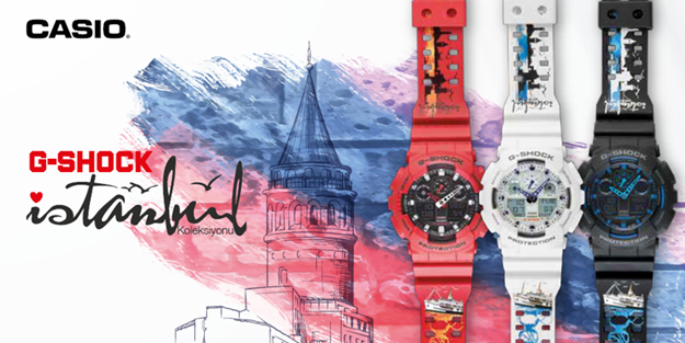 G-Shock Istanbul 2016 GA-100 Collection-0
