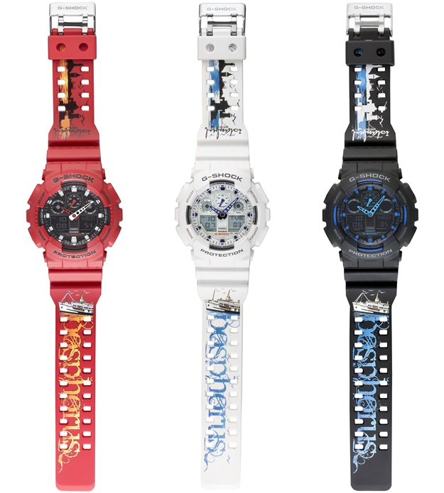 G-Shock Istanbul 2016 GA-100 Collection-2