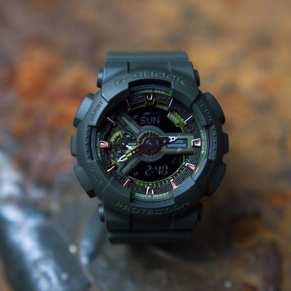 [Live Photos] G-Shock S-Series GMA-S110CM