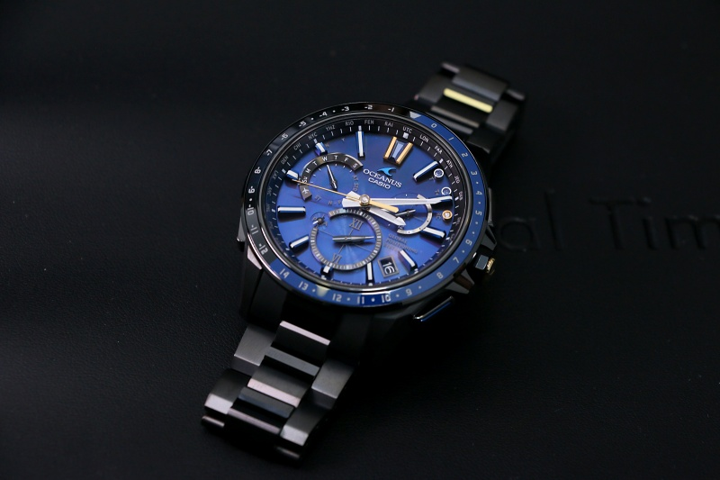 [Live Photos] Oceanus OCW-G1100S – Between the Earth and the Universe