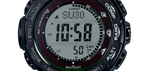 ProTrek PRW-3100 User Manual / Casio Module 3444