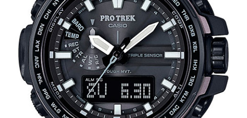 ProTrek PRW-6100 User Manual / Casio Module 5470