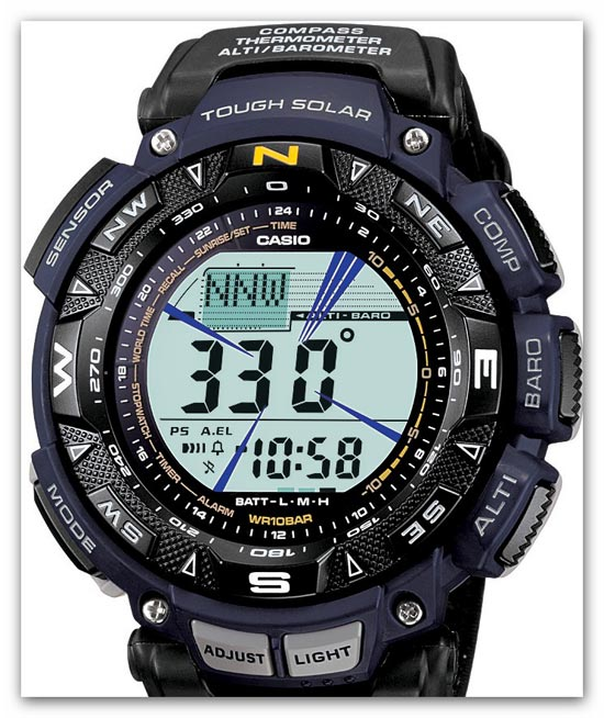 ProTrek PAG-240 For Active Rest-1