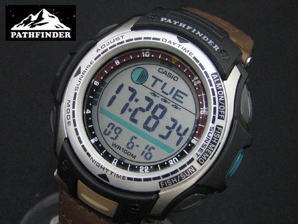 Protrek pas 400 with fishing alarm function for Casio pathfinder fishing watch