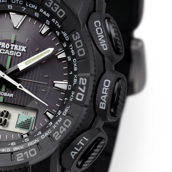 ProTrek PRG-550 Watch Review -1