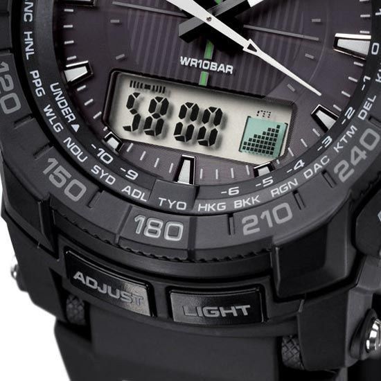 ProTrek PRG-550 Watch Review 2