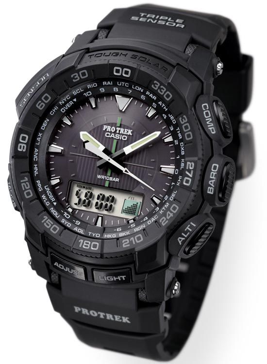 ProTrek PRG-550 Watch Review -3