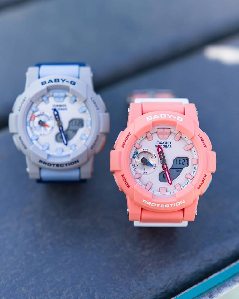 [Live Photos] Baby-G Beautiful Pink and Coral Colors BGA-185
