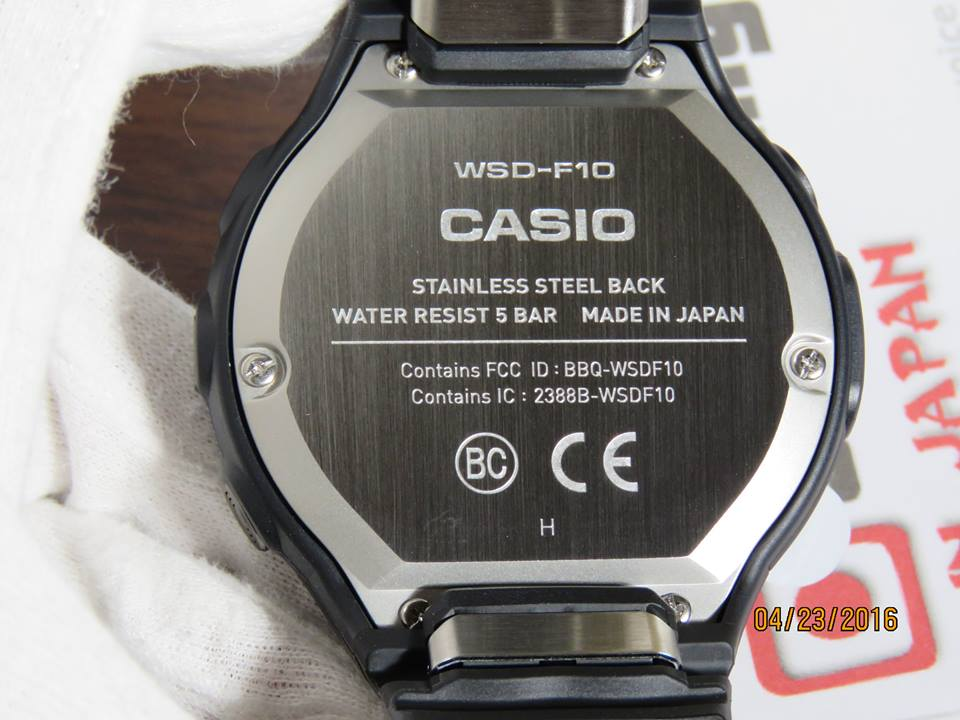 Casio Smart Outdoor Watch WSD-F10 from Japan-3