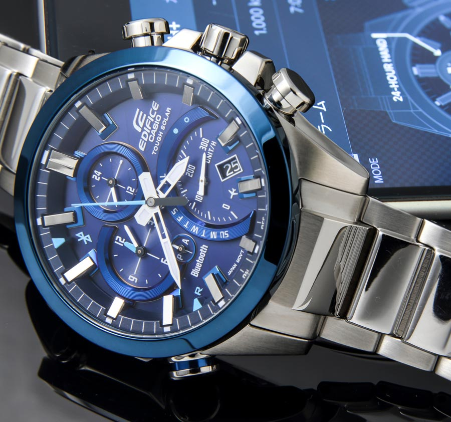 [Official] Edifice EQB-500DB-2A Boasts Smart Phone Link, Tough Solar Power and Bold Design