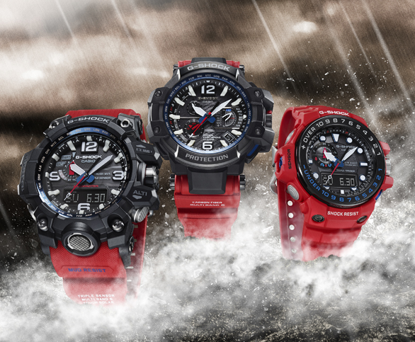[Official] G-SHOCK BROADENS MASTER OF G LINE WITH RESCUE RED COLLECTION