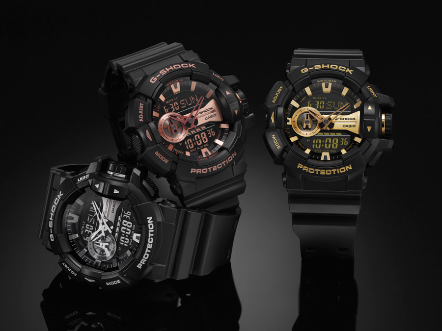 [Official] G-SHOCK SHOWCASES METALLIC DIAL COLOR ADD SERIES GA-400