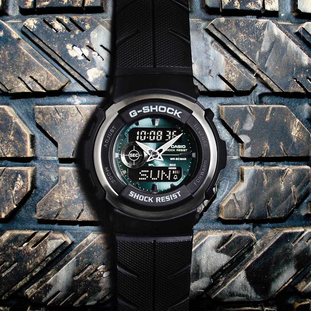 [Live Photos] G-Shock G-300-3AJF from G-SPIKE