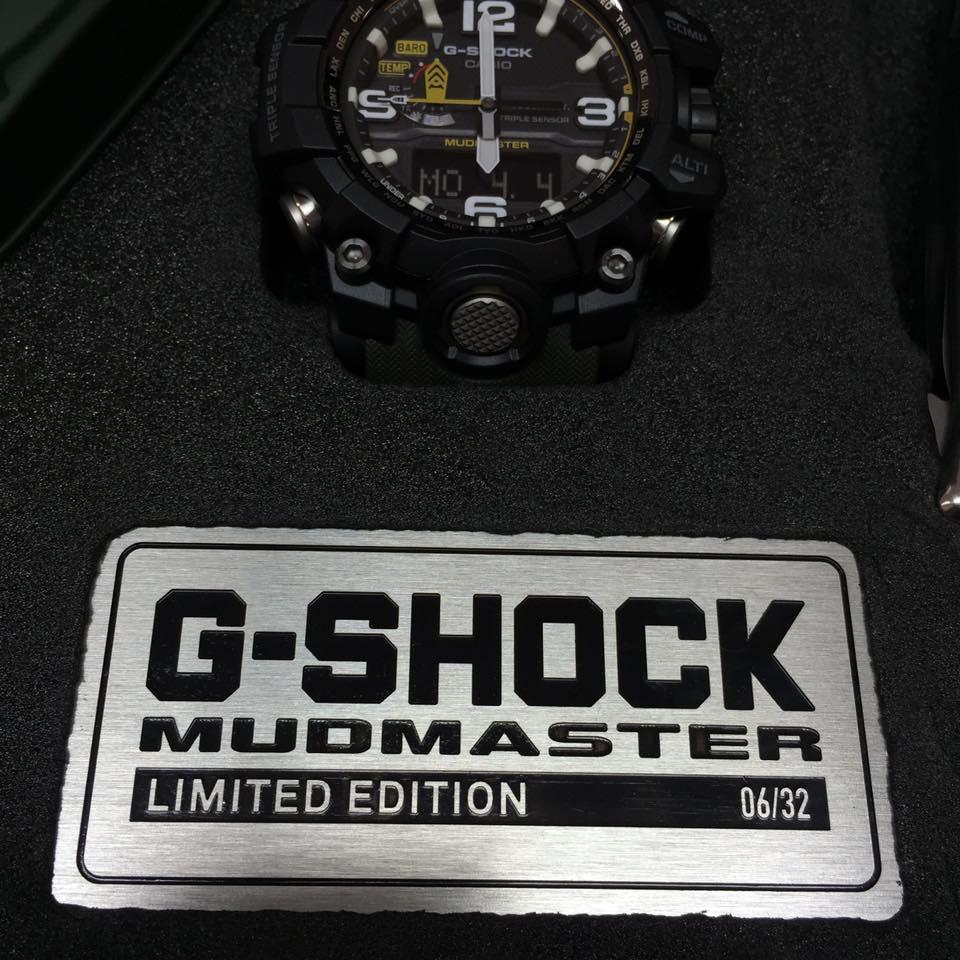 [Live Photos] G-Shock GWG-1000-1A3ERLTD MUDMASTER LIMITED