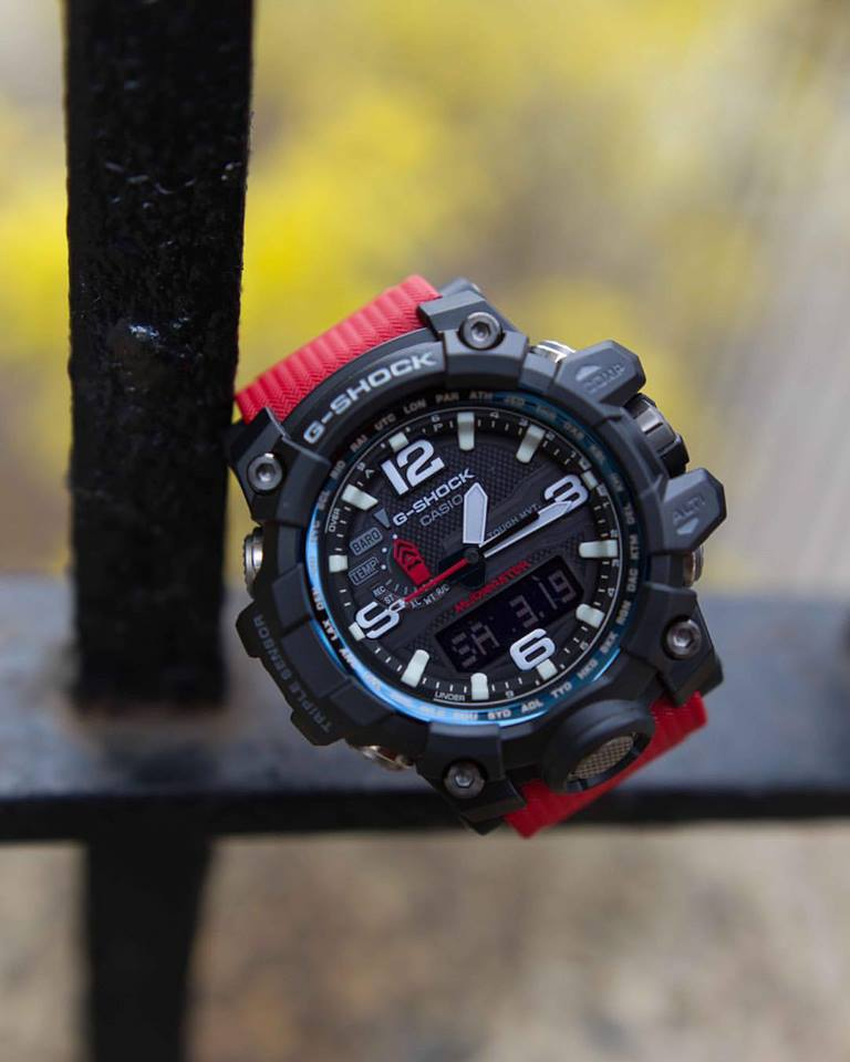 [Live Photos] G-Shock Master Of G Rescue Red 2016