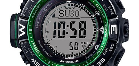 ProTrek PRW-3510 User Manual / Casio Module 3444