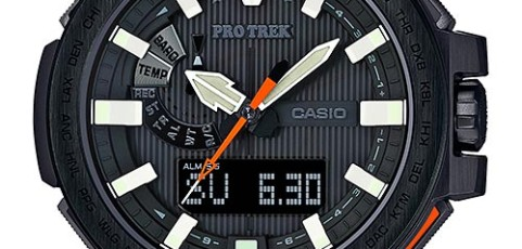 How to set alarm on ProTrek PRX-8000 / Casio 5470