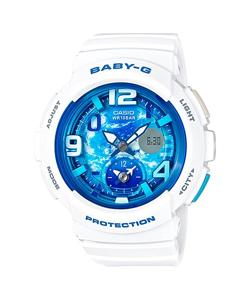 How to set time on Baby-G BGA-190 / Casio 5382