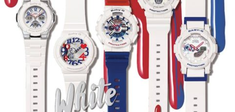 [Live Photos] Baby-G Tricolor Series in Milk Magazine issue 775