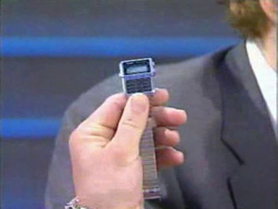 [Casio on TV] Penn Jillette is wearing Casio DBC-610A
