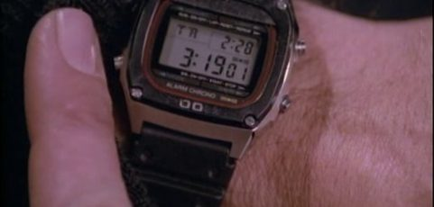 [Casio on TV] Angus MacGyver is wearing Casio DW-1000